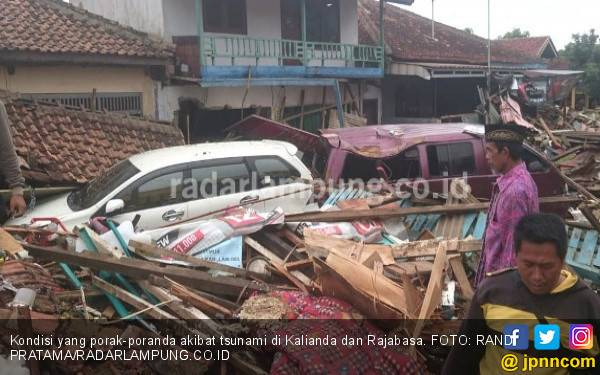 Korban Tsunami di Lampung Selatan, 58 Orang Meninggal - JPNN.com