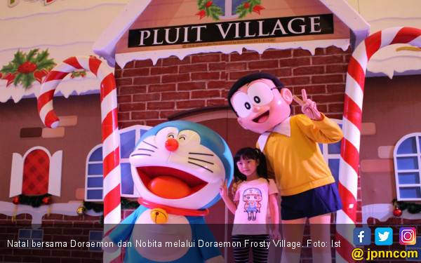 Rayakan Natal Bersama Doraemon dan Nobita - JPNN.com
