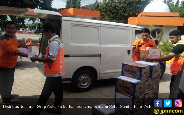 Gerak Cepat Astra untuk Korban Tsunami Selat Sunda - JPNN.com