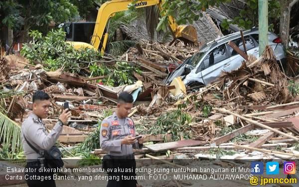 Data Terbaru Korban Tsunami: 429 Orang Meninggal Dunia - JPNN.com