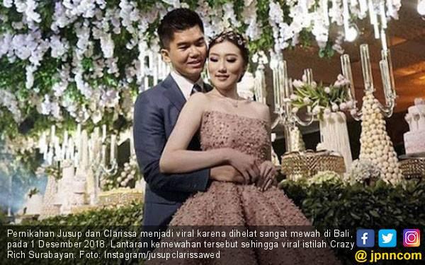 6 Pernikahan Termewah 2018, Ada Crazy Rich Surabayan Loh - JPNN.com