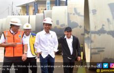Didampingi Anies, Jokowi Tinjau Proyek Bendungan Sukamahi - JPNN.com