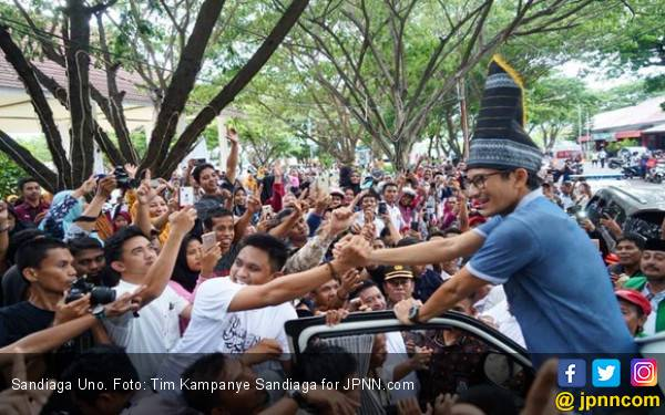 Anak Buah OSO: Sandiaga Rayakan Seribu Titik Hoaks - JPNN.com