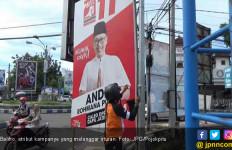 Jelang Pemilu, Seribu Atribut Kampanye Ditertibkan - JPNN.com