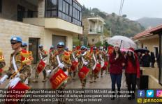 Drum Band Satgas Indobatt Memeriahkan Natal di Lebanon - JPNN.com