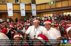 Sambut Natal, Perinus dan Tiga BUMN Berbagi Kasih di Ambon - JPNN.com