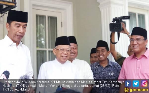 Pak Jokowi Tak Tunggui Kiai Ma'ruf Berdebat, Ini Alasannya - JPNN.com