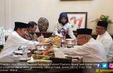Jokowi Makan Siang Bareng Abah, Ini Menunya - JPNN.com