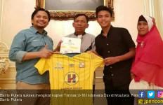 David Maulana Mengaku Betah Bersama Barito Putera, Begini Alasannya - JPNN.com