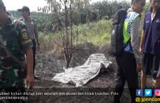 Warga Tanjab Barat Ditemukan Tewas Terbakar di Kebun Sendiri - JPNN.com