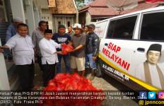 FPKS DPR Menyerahkan Bantuan untuk Korban Tsunami di Banten - JPNN.com