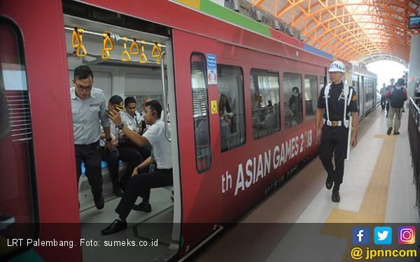 Benarkah LRT Palembang Sepi Penumpang? - JPNN.com