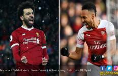 Liverpool Vs Arsenal: Adu Tajam Salah dengan Aubameyang - JPNN.com