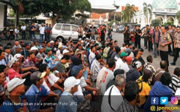 Polisi Kumpulkan 182 Preman Sebelum Tahun Baru - JPNN.com