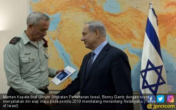 Tantang Netanyahu di Pemilu Israel, Ini Profil Benny Gantz - JPNN.com
