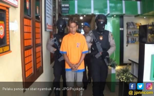 Ditangkap Resmob Polri karena Curi Obat Nyamuk - JPNN.com