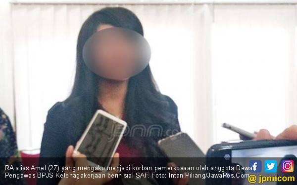 Resmi, Amel Polisikan Anggota Dewas BPJS Ketenagakerjaan - JPNN.com