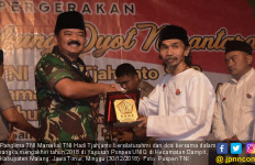 Panglima TNI Silaturahmi dan Doa Bersama di Ponpes UNIQ - JPNN.com