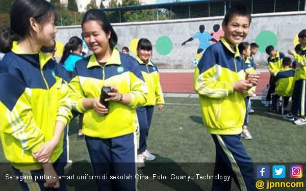 Sekolah Cina Kembangkan Seragam Pintar untuk Siswa-siswi - JPNN.com