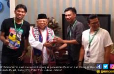 Alasan Bobotoh Persib Bandung Dukung Jokowi – KH Ma'ruf Amin - JPNN.com