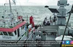 KRI Cut Nyak Dien Tangkap Tug Boat di Perairan Selat Berhala - JPNN.com