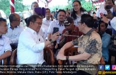 Menkominfo Uji Coba Layanan Internet Cepat di Morotai - JPNN.com