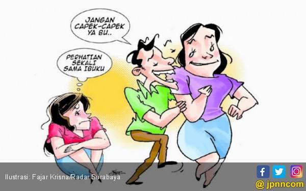Asmara Ibu Mertua & Menantu Pria karena Kabar Anunya Besar - JPNN.com