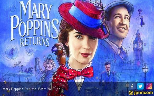 Nostalgia yang Segar Marry Poppins Returns - JPNN.com