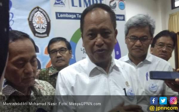 Dorong Kuliah Daring, Menteri Nasir Minta Kompetensi Dosen Ditingkatkan - JPNN.com