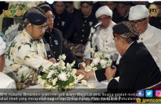 Dhaup Ageng, BPH Kusumo Bimantoro Resmi Suami Maya Lakshita - JPNN.com