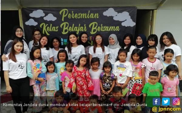 Jendela Dunia Buka Kelas Belajar Bersama di Jakarta Selatan - JPNN.com