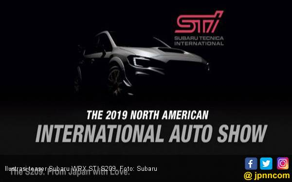 Subaru Secara Eksklusif Hadirkan WRX STI S209 di Detroit - JPNN.com