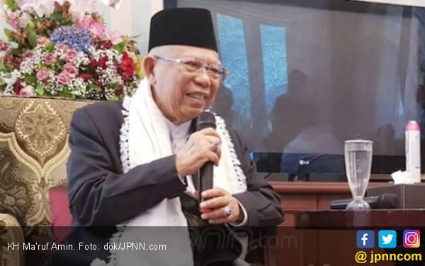 Ma'ruf Amin: Ya Allah, Hilangkanlah Penyakit Arifin Ilham - JPNN.com