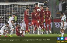 Dramatis! Vietnam Kalah dari Irak Lantaran Gol di Menit 90 - JPNN.com