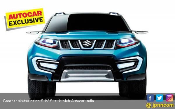 Calon SUV Suzuki Penantang Pajero Sport dan Fortuner - JPNN.com