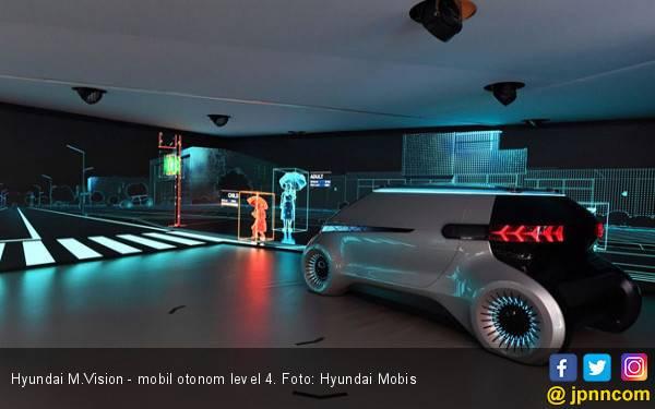 Hyundai Mobis Kenalkan Mobil Otonom Level 4 - JPNN.com