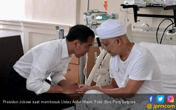 Presiden Jokowi Ucapkan Belasungkawa untuk Ustaz Arifin Ilham - JPNN.com