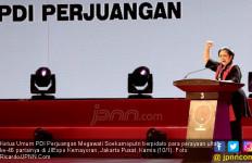 Sentilan Bu Mega buat Airlangga Golkar di Pembukaan Kongres PDIP - JPNN.com