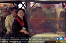 Cerita Bu Mega soal Dialognya saat Disopiri Presiden Jokowi - JPNN.com