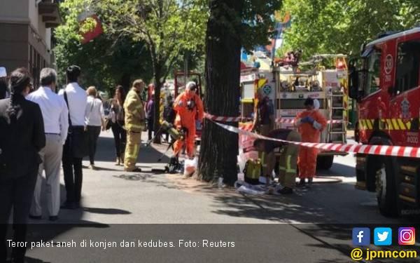 Kurir Bawa Teror Paket untuk Kedubes dan Konjen - JPNN.com