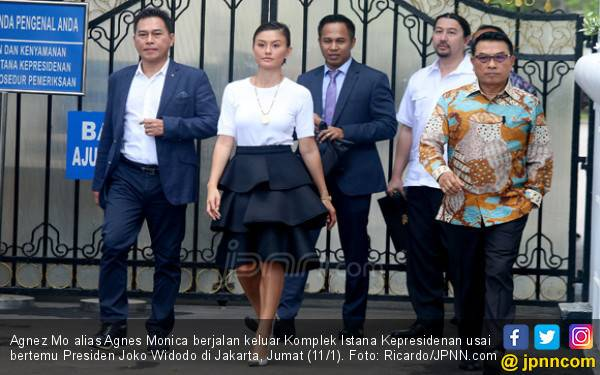 Agnez Mo Diberi Waktu 30 Menit Bersama Jokowi - JPNN.com