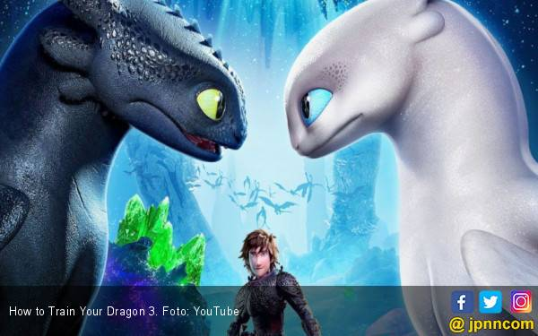 How to Train Your Dragon 3: Akhir yang Nyaris Sempurna - JPNN.com