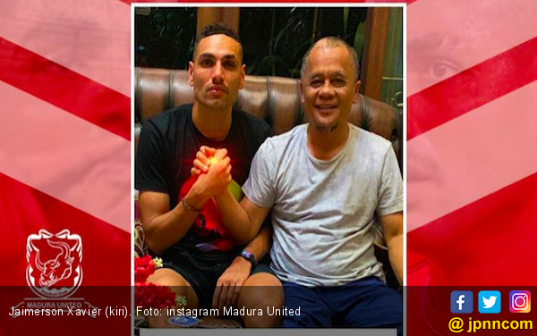 Jaimerson Jadi Kado Terindah Ulang Tahun Madura United - JPNN.com