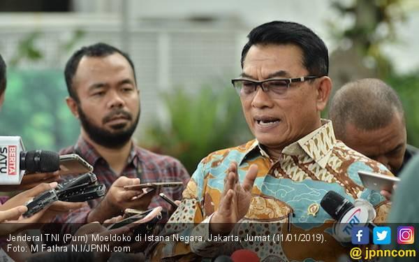 Moeldoko Sebut Kubu Prabowo Goreng Isu, Seolah Jokowi Bohong - JPNN.com