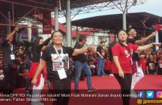 Mbak Puan Goyang Rakornas PDI Perjuangan - JPNN.com