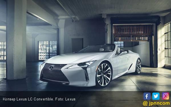 Jelang Debut Dunia, Lexus LC Convertible Mulai Terkuak - JPNN.com