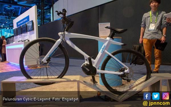 Sepeda Listrik Pertama di Dunia Berteknologi Mutakhir - JPNN.com