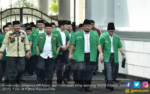 Gus Yaqut Boyong Pengurus Ansor ke Istana Temui Pak Jokowi - JPNN.com