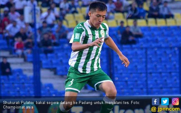 Shukurali Pulatov, Pemain Asing Bidikan Semen Padang - JPNN.com