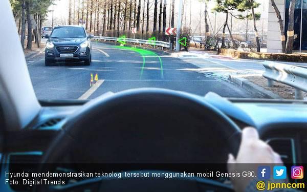 Hyundai Pamer Teknologi AR untuk Mudahkan Pengemudi - JPNN.com